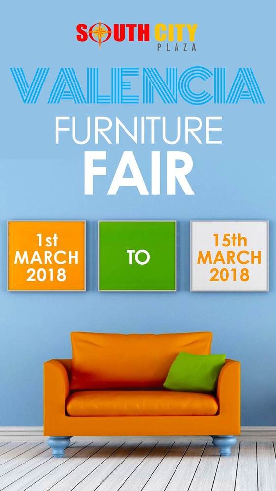 Southcity Plaza Valencia Furniture Fair 1st March 2018 15th
